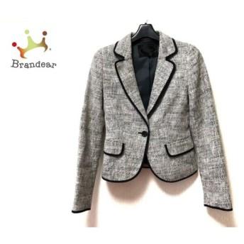 アンタイトル UNTITLED ジャケット サイズ1 S レディース 白×黒×マルチ 肩パッド スペシャル特価 20190812