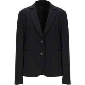 《期間限定セール開催中!》HANITA レディース テーラードジャケット ブラック 42 ポリエステル 64% / レーヨン 33% / ポリウレタン 3%