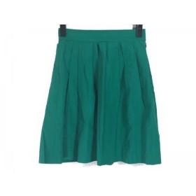 【中古】 トゥモローランド TOMORROWLAND スカート サイズ34 S レディース グリーン MACPHEE