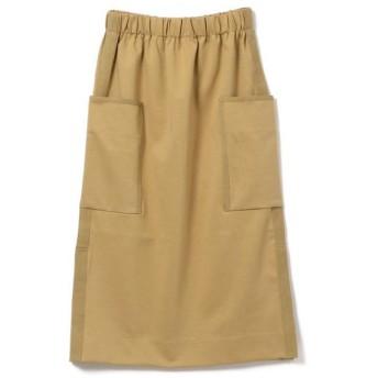 SHIPS for women / シップスウィメン assiette:ビッグポケット ポンチスカート