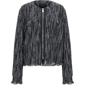 《セール開催中》PINKO レディース テーラードジャケット ブラック 44 コットン 50% / ポリエステル 25% / アクリル 14% / ウール 8% / 指定外繊維 3%