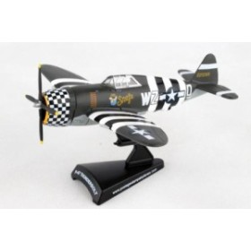 POSTAGE STAMP 1/100 P-47 サンダーボルト アメリカ陸軍航空軍 Snafu [PS5359-3]
