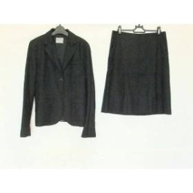 セオリーリュクス theory luxe スカートスーツ サイズ42 L レディース 黒【中古】