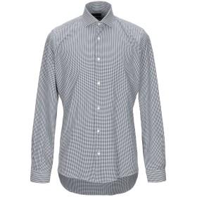 《期間限定セール開催中!》LIU JO MAN メンズ シャツ ダークブルー 40 コットン 100%