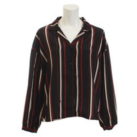 【Super Sports XEBIO & mall店:トップス】オープンカラーシャツ 18385003BK