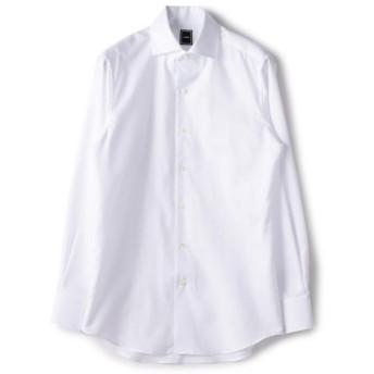 [マルイ] SD: コットン リネン ソリッド オックスフォード ワンピースカラー シャツ(ホワイト)/シップス(メンズ)(SHIPS)