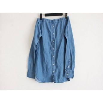 【中古】 ミラオーウェン Mila Owen スカート サイズ1 S レディース ブルー デニム