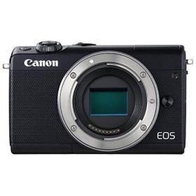 【新品訳あり(欠品あり)】 Canon製 ミラーレス一眼カメラ EOS M100 ボディ ブラック 欠品あり