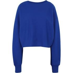 《期間限定セール開催中!》CHAMPION REVERSE WEAVE レディース スウェットシャツ ブライトブルー S コットン 100% Crewneck Sweatshirt