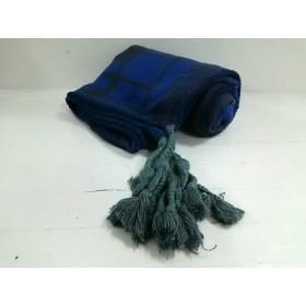 【中古】 ディーゼル DIESEL ストール(ショール) ブルー ダークグレー グレー Female/チェック柄
