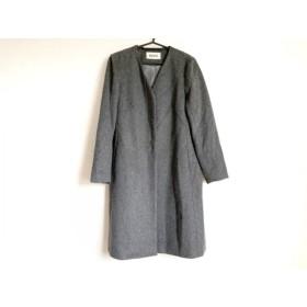 【中古】 ロペ ROPE コート サイズ38 M レディース グレー 冬物