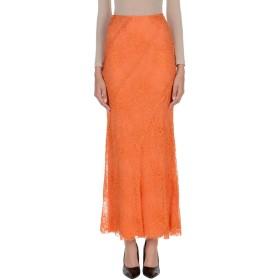 《期間限定 セール開催中》ALBERTA FERRETTI レディース ロングスカート オレンジ 38 86% アセテート 9% シルク 5% 指定外繊維