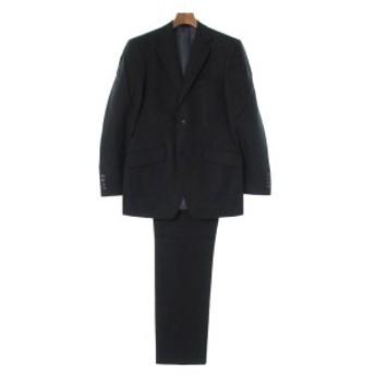 KENT&CURWEN / ケントアンドカーウェン メンズ セットアップ・スーツ 色:黒系x紫系(ストライプ) サイズ:-(M位)