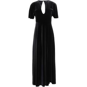 《期間限定セール開催中!》ANGELA MELE MILANO レディース 7分丈ワンピース・ドレス ブラック XS ポリエステル 92% / ポリウレタン 8%