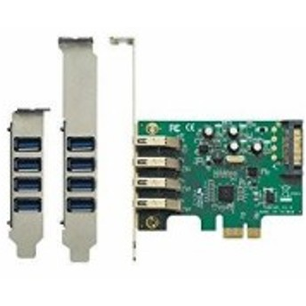 USB3.0V-P4-PCIE2 玄人志向 STANDARDシリーズ USB3.0外部4ポート増設カード