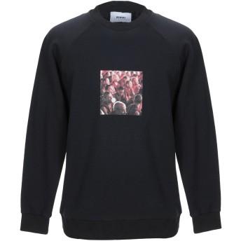 《9/20まで! 限定セール開催中》BONSAI メンズ スウェットシャツ ブラック S コットン 90% / ポリエステル 10%