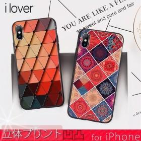 iPhone X Xs ケース iPhone8 アイフォン X Xs アイフォン8 ケース iPhoneケース おしゃれ エスニック スマホケース
