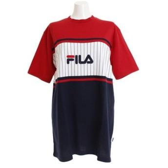 フィラ(FILA) 切替 BIG Tシャツ FL5443-11 (Lady's)