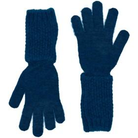 《送料無料》MARELLA レディース 手袋 ブルーグレー M アクリル 42% / ナイロン 30% / モヘヤ 14% / ウール 14%