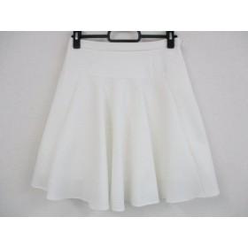 【中古】 チェスティ Chesty ミニスカート サイズ0 XS レディース 白