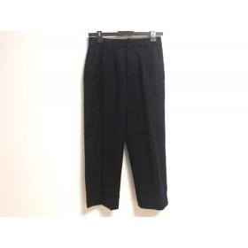 【中古】 ザ ヴァージニア The Virgnia パンツ サイズ36 S レディース 黒 白