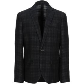 《期間限定セール開催中!》OFFICINA 36 メンズ テーラードジャケット ブラック 48 ウール 45% / コットン 35% / ナイロン 15% / 指定外繊維 5%