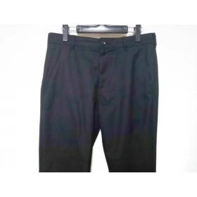 【中古】 コムデギャルソン COMMEdesGARCONS パンツ サイズM レディース 黒 膝切替えデザイン