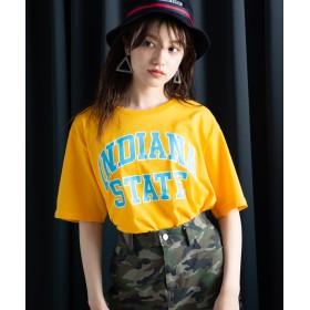 Tシャツ - WEGO【WOMEN】 カレッジプリントTシャツ WE19SM04-M017