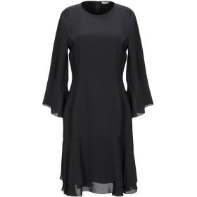《セール開催中》RUE8ISQUIT レディース ミニワンピース&ドレス ブラック 40 ポリエステル 100%