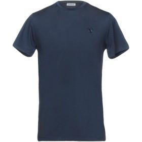 《期間限定 セール開催中》BIKKEMBERGS メンズ T シャツ ダークブルー XS 95% ポリエステル 5% ポリウレタン