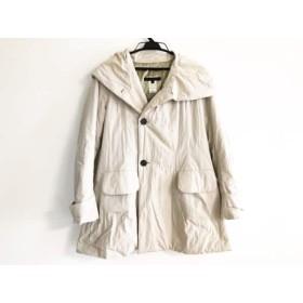 【中古】 マサヒロ ミヤザキ masahiro miyazaki コート サイズ40 M レディース ベージュ 冬物