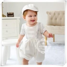 プレゼントベビーロンパース新生児出産祝い女の赤ちゃベビー服クマカバーオール出産祝い退院