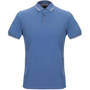 《9/20まで! 限定セール開催中》BRUNELLO CUCINELLI メンズ ポロシャツ ブルー S コットン 100%