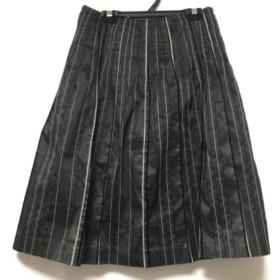 【中古】 トゥモローランド TOMORROWLAND スカート サイズ36 S レディース カーキ 黒 アイボリー