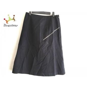 トゥモローランド TOMORROWLAND スカート サイズ36 S レディース 美品 黒×アイボリー スペシャル特価 20190814