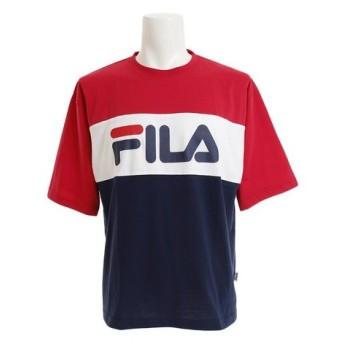 フィラ(FILA) 切替Tシャツ FM4799-11 (Men's)