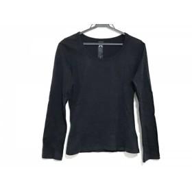 【中古】 ロアー roar 長袖Tシャツ サイズ0 XS レディース 黒 スタッズ/ラインストーン