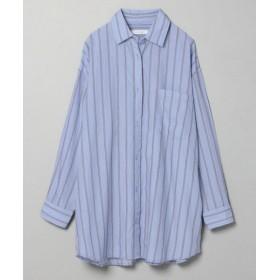 (JEANASIS/ジーナシス)ストライプBIGシャツ【ブルーのみ特別価格】/ [.st](ドットエスティ)公式