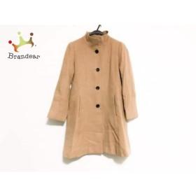ロートレアモン LAUTREAMONT コート サイズ38 M レディース 美品 ライトブラウン 冬物/カシミヤ 新着 20190502