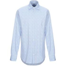 《期間限定セール開催中!》MASSIMO ALBA メンズ シャツ アジュールブルー S コットン 100%