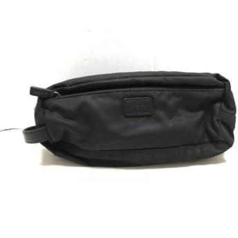 【中古】 コーチ COACH セカンドバッグ - 5463 黒 ナイロン レザー
