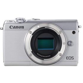 【新品訳あり(欠品あり)】 Canon製 ミラーレス一眼カメラ EOS M100 ボディ ホワイト 欠品あり