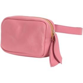 《期間限定セール開催中!》CLARE V. レディース バックパック&ヒップバッグ ピンク 牛革 100% / 羊革(ラムスキン) / 真鍮/ブラス Le Belt Bag