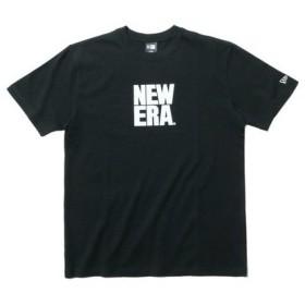 ニューエラ(NEW ERA) 【オンライン特価】 コットン Tシャツ スクエアニューエラ 11901416 (Men's)