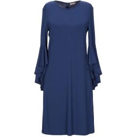 《セール開催中》MICHAEL KORS COLLECTION レディース ミニワンピース&ドレス ブルー 6 レーヨン 95% / ポリウレタン 5%