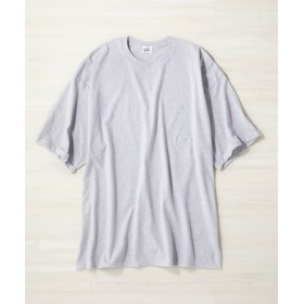 CIMARRON ワンポイントTシャツ レディース グレー