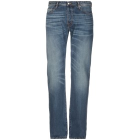《期間限定 セール開催中》JUST CAVALLI メンズ ジーンズ ブルー 34 コットン 100%