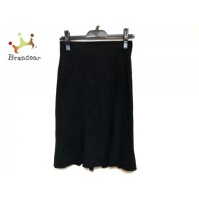 マテリア MATERIA スカート サイズ36 S レディース 美品 黒   スペシャル特価 20190814