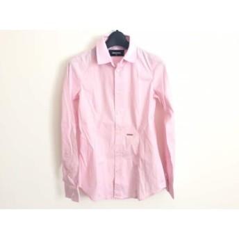 【中古】 ディースクエアード DSQUARED2 長袖シャツブラウス サイズ40 M レディース ピンク