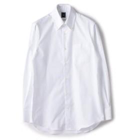 SALE開催中【SHIPS:トップス】SD: ALBINIオックスフォード ロイヤル ソリッド ボタンダウンシャツ(ホワイト)
